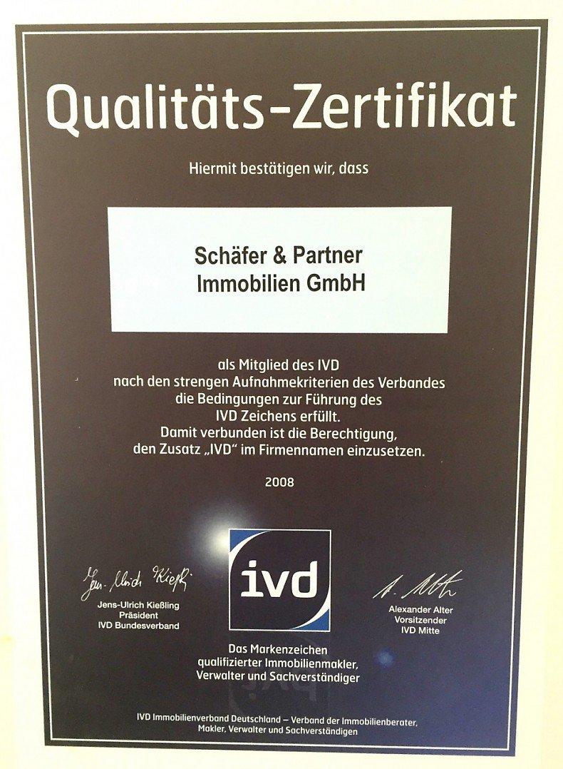 Schäfer & Partner Immobilien GmbH - Auszeichnungen